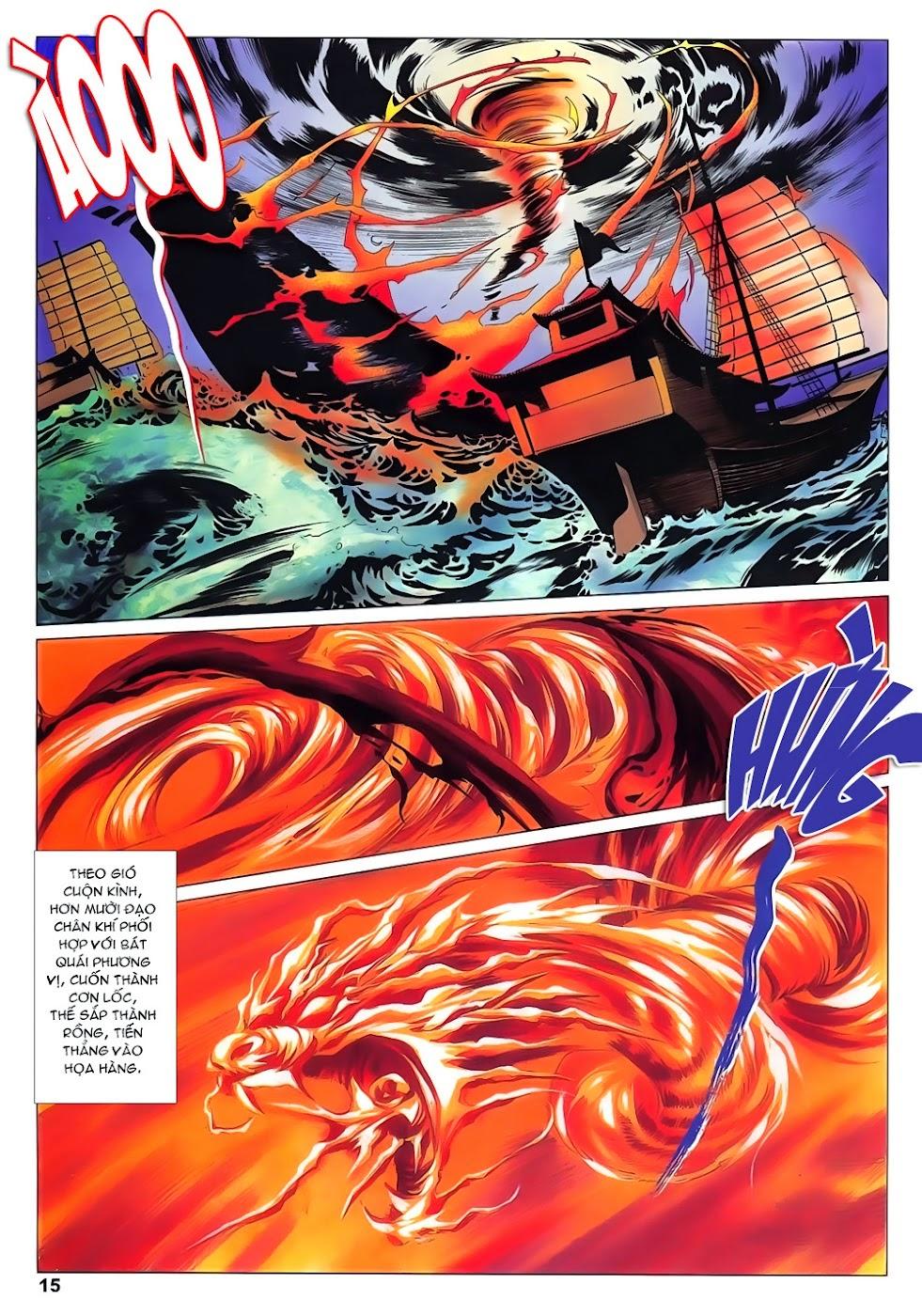 Lục Đạo Thiên Thư chap 15 - Trang 15