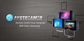 Mengakses Layar Komputer Pada Gadget (Android, I Phone / I Pad, MAC dan Windows Client) Dengan AVStreamer