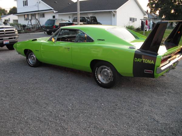 1969 dodge charger daytona for sale buy american muscle car. Black Bedroom Furniture Sets. Home Design Ideas