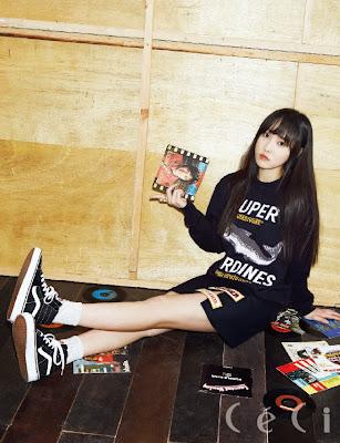 Gfriend Yuju Ceci April 2015