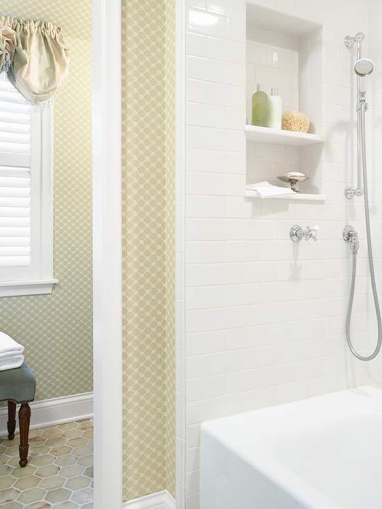 Made in heaven pretty and practical bathroom for Bathroom heaven