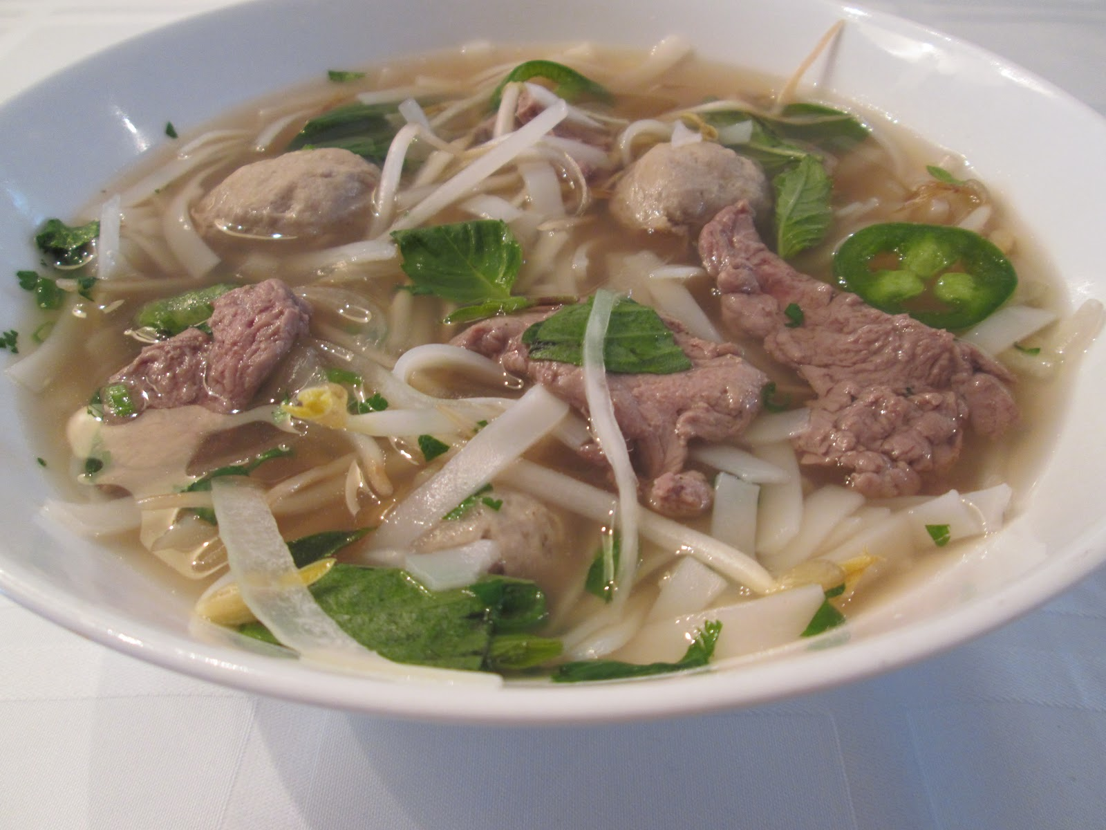 Food for Thought . . .: Pho Bo (Beef Noodle Soup)