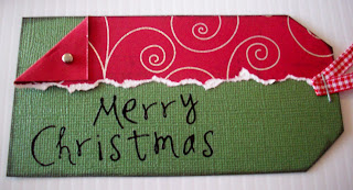 Merry+Christmas+Tag DIY Christmas Gift Tags Tutorial