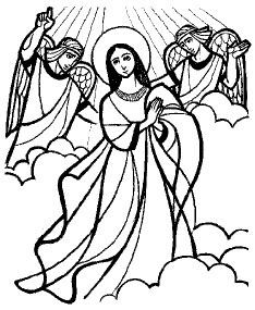 Image Result For Mary Coloring Page