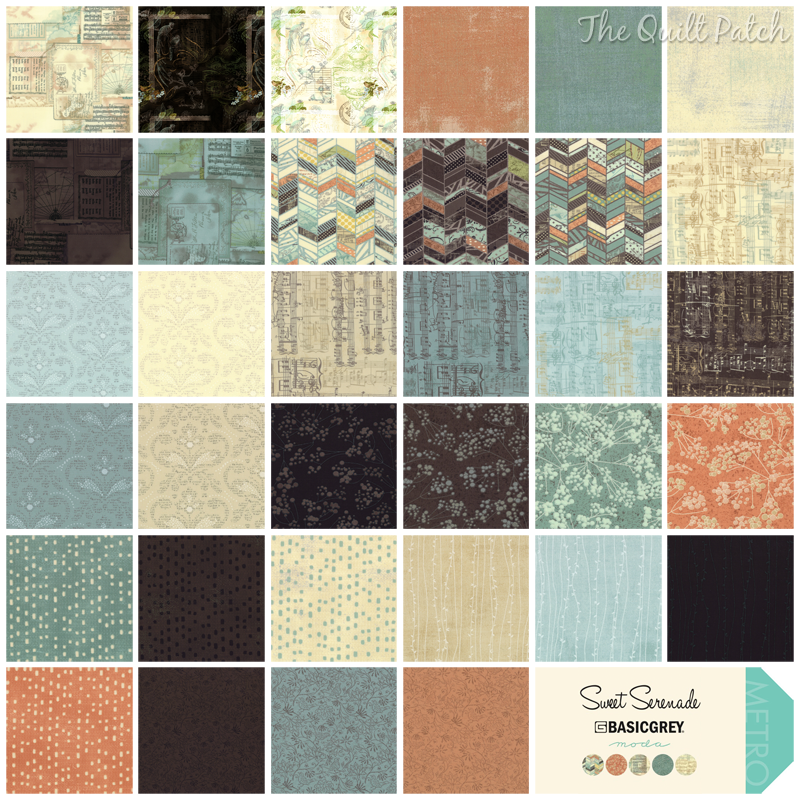 Moda Sweet Serenade - BasicGrey -  The Quilt Patch