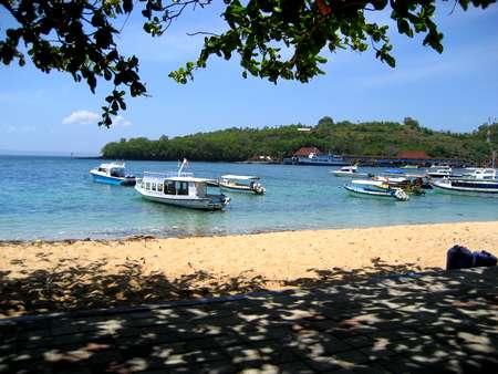 Beach in Padang Bay Bali