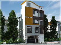 3 Floor House Elevation Designs