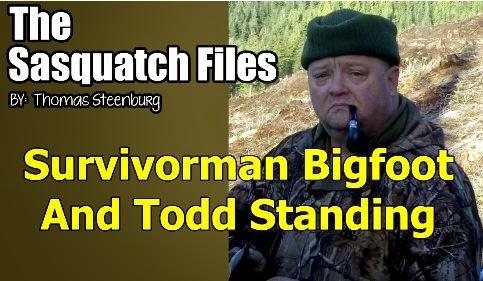 Thomas Steerburg Todd Standing Bigfoot
