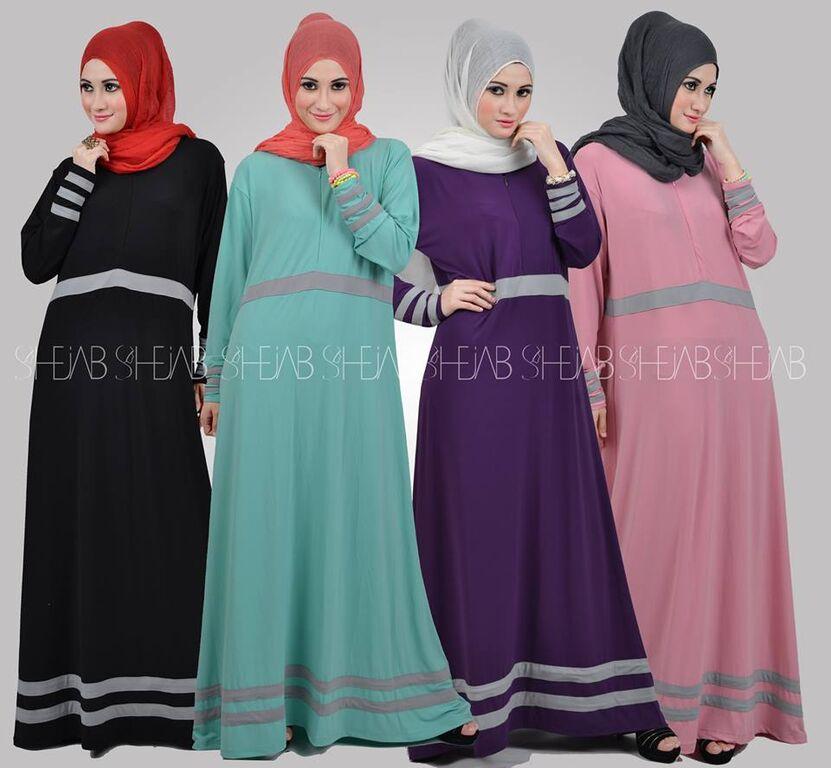 Baju Muslim Terbaru 2017 Online Baju Gamis Terbaru Shejab