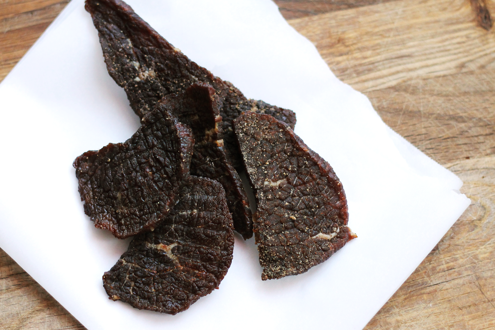 homemade whiskey beef jerky