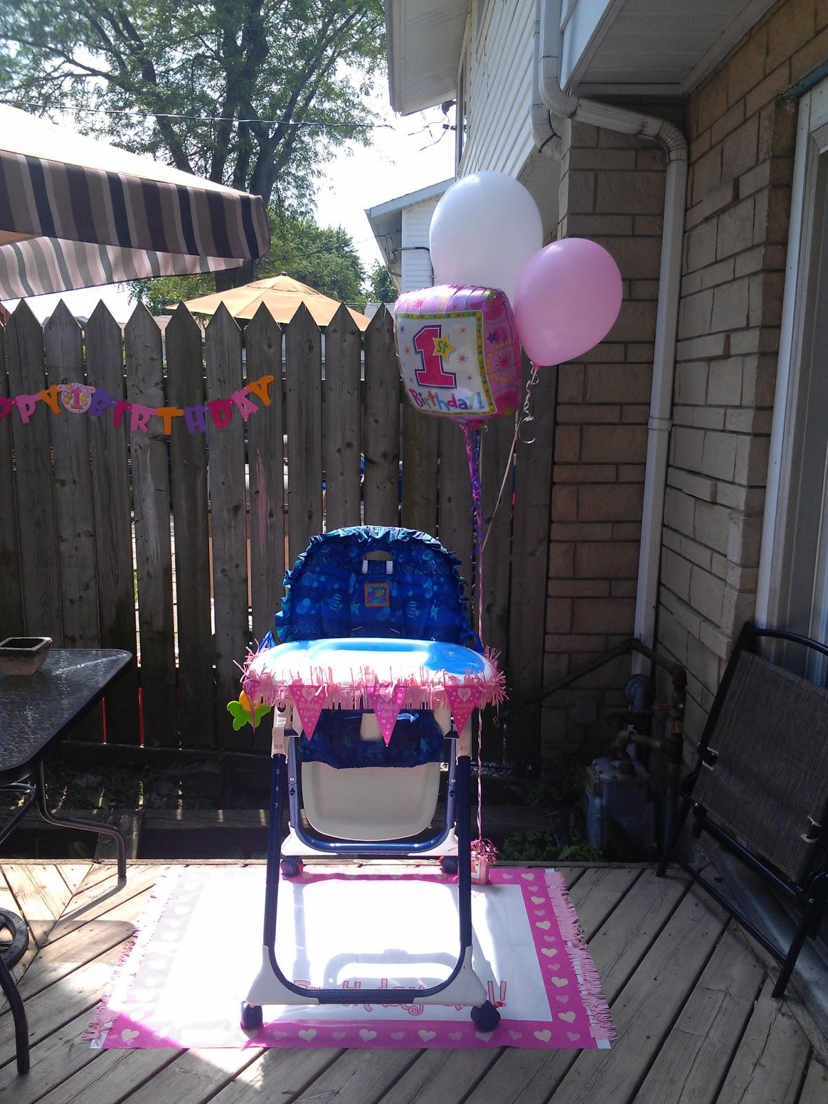 Dollarama Cake Decoration : Blondie s Blog: 1st Birthday Party Theme