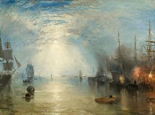 Les feux des bateaux, 1835