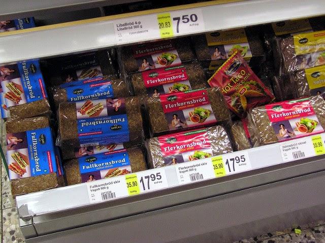 Sweden -- Bread varieties