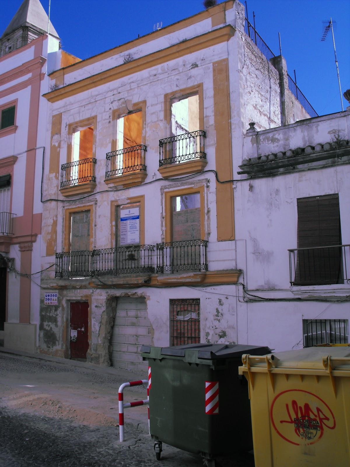 Jerez patrimonio destruido derribo en calle carpinter a for Calle prado jerez 3 navacerrada