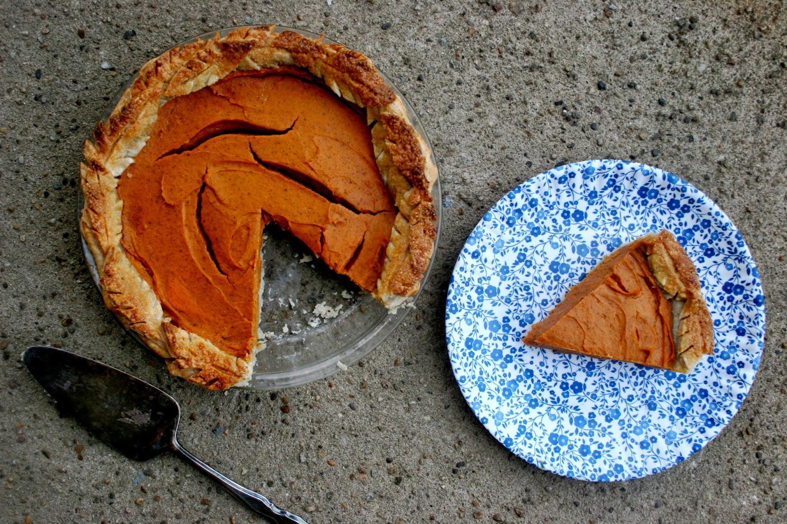Bakerhand's Sweet Potato Pie with Cornmeal Crust