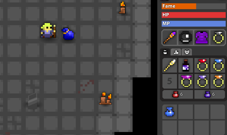Rotmg Blue Bag Can be in a blue bag even