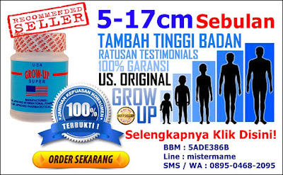 Grow Up Super USA Original Suplemen Penambah Tinggi Badan Cepat Alami