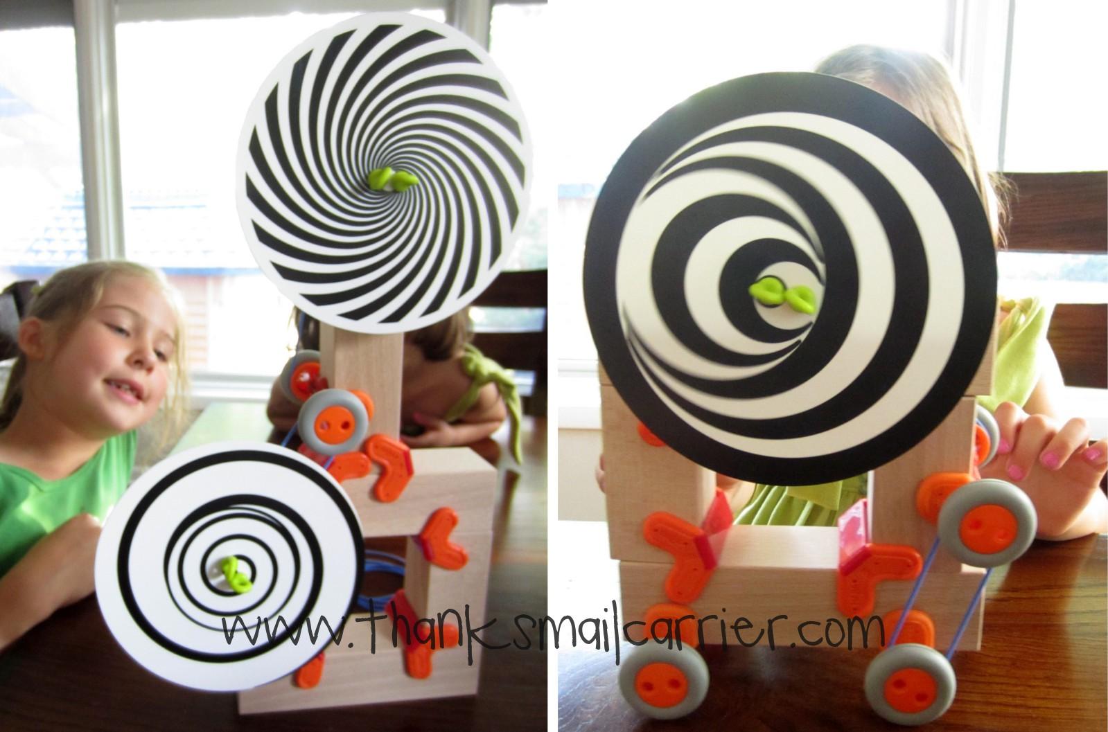spinning disks