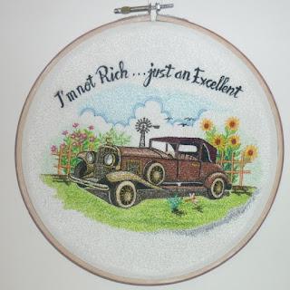 lukis bordir mobil kuno
