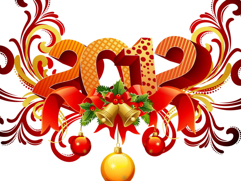 Download free happy new year 2012 desktop wallpaper.