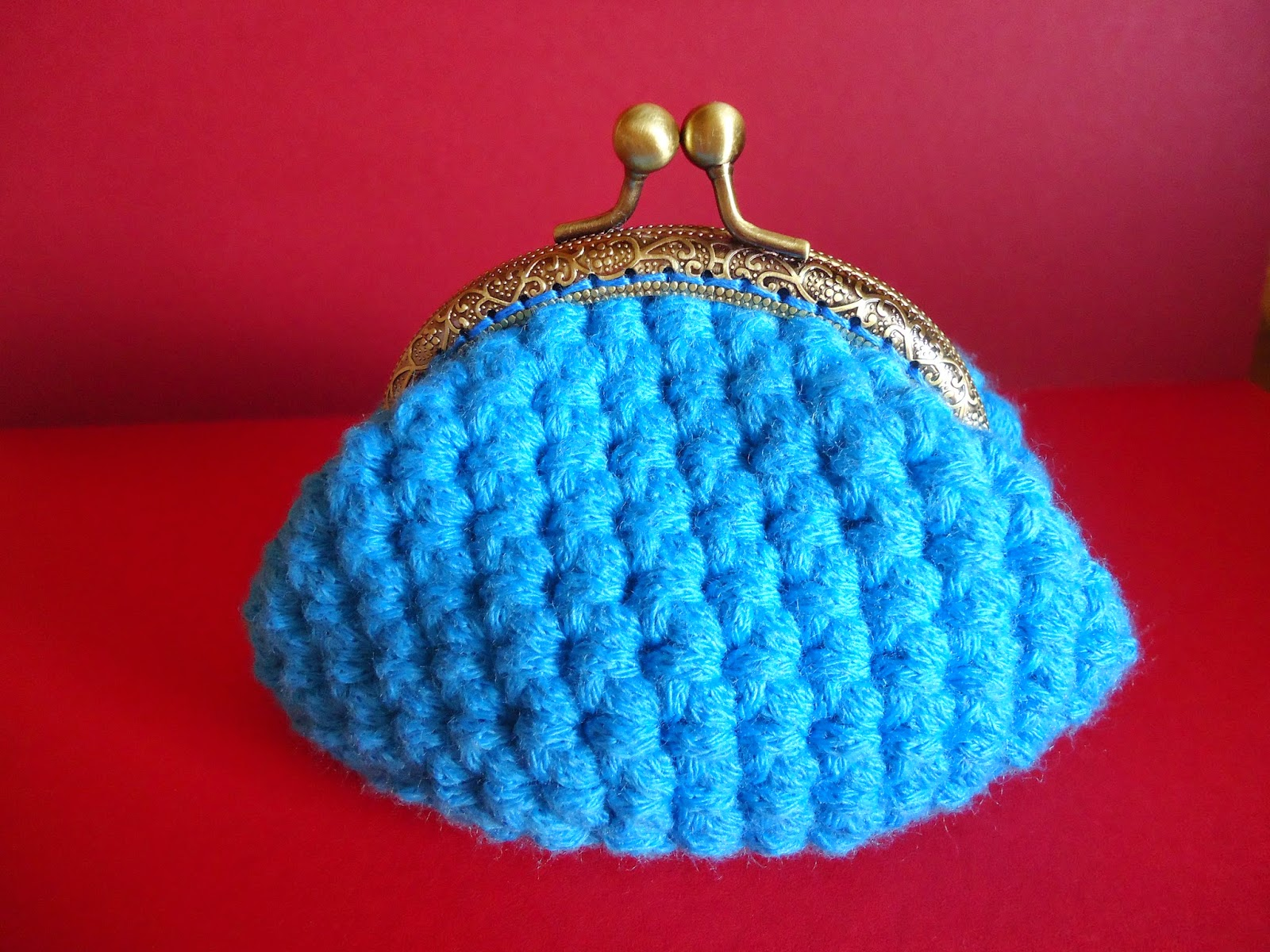 Monedero a crochet con boquilla - Crochet purse - Handbox Craft ...