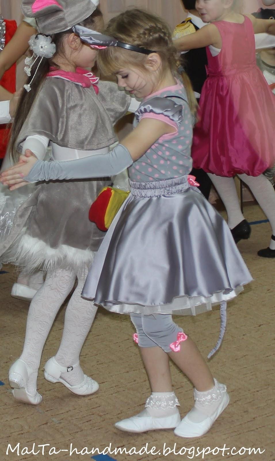 Костюм мышки для девочек своими руками