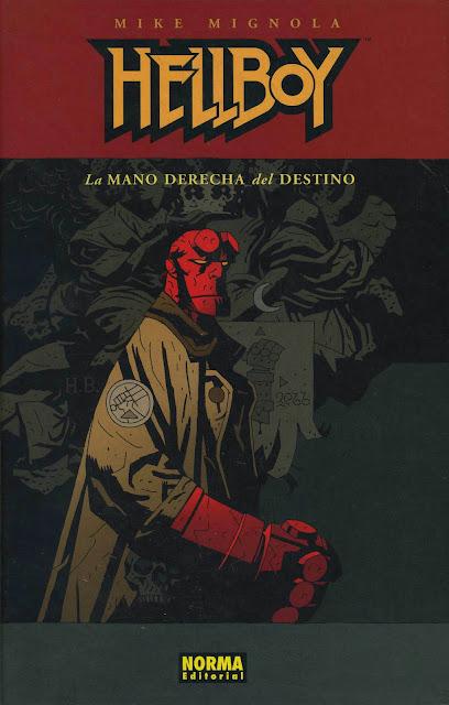 Portada del Tomo 4 Cartoné de Hellboy Editorial Norma