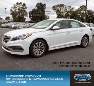 2015 Hyundai Sonata Sport, Savannah Hyundai, New Car Specials