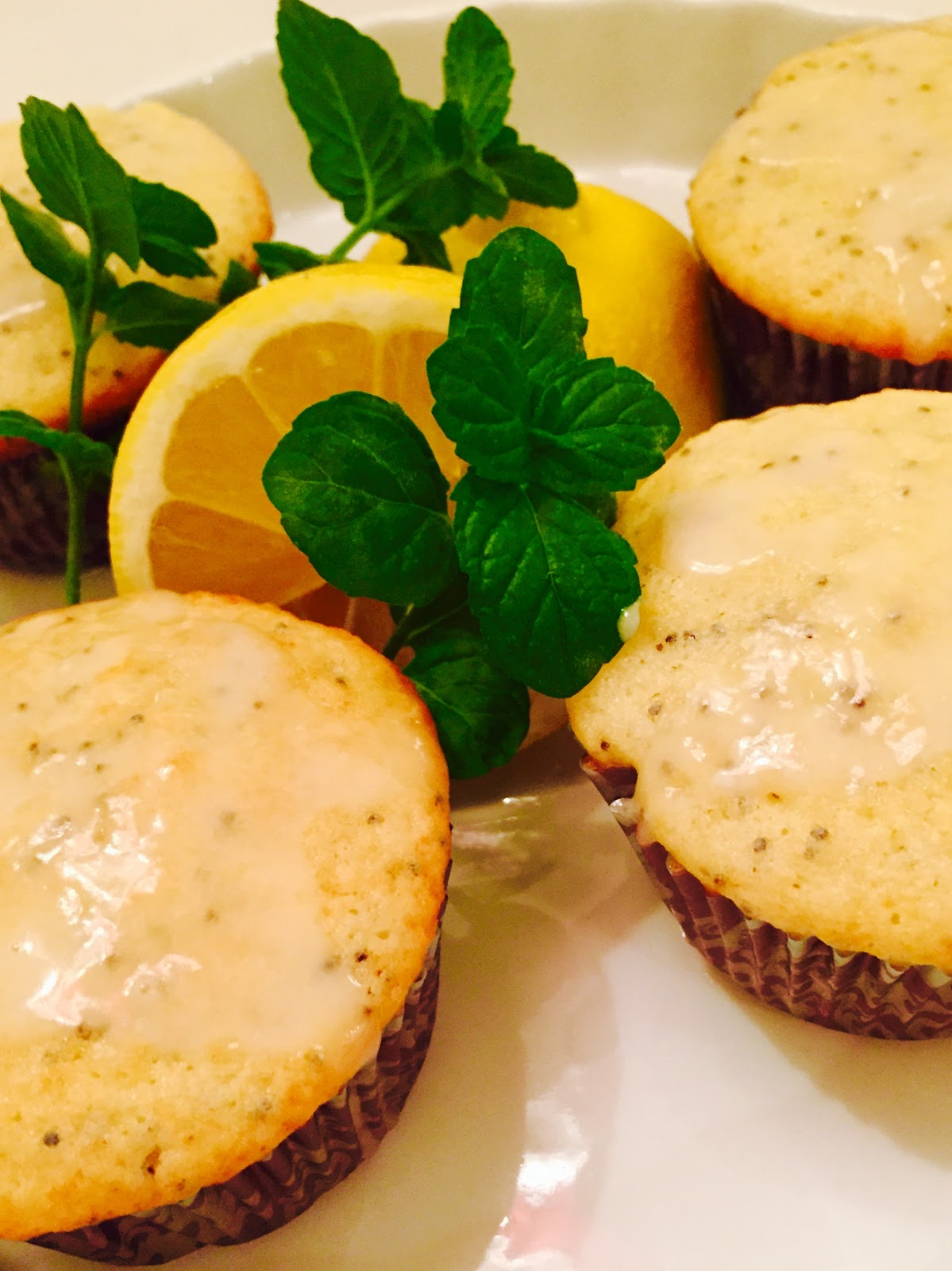 lemon poppy seed muffins- The Style Sisters
