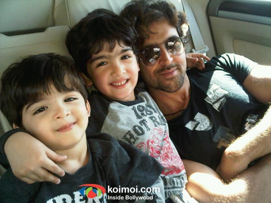 Hrithik Roshan's Children