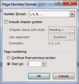 Cara Membuat Penomoran Halaman Yang Berbeda Di Microsoft Office Word 2007, 2010 Dan 2013