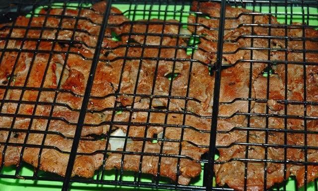 Grilled Beef with Multi Flavor (Bò Nướng Ngũ Vị)1