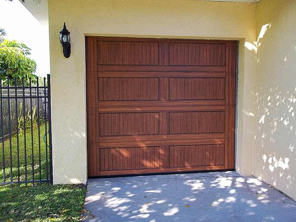 2015 03 01 everything i create paint garage doors to for Paint garage door to look like wood