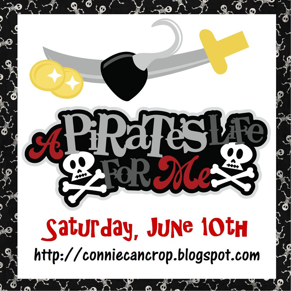 A Pirate's Life For Me Blog Hop