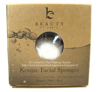 Beauty By Earth - Konjac Sponge packaging front