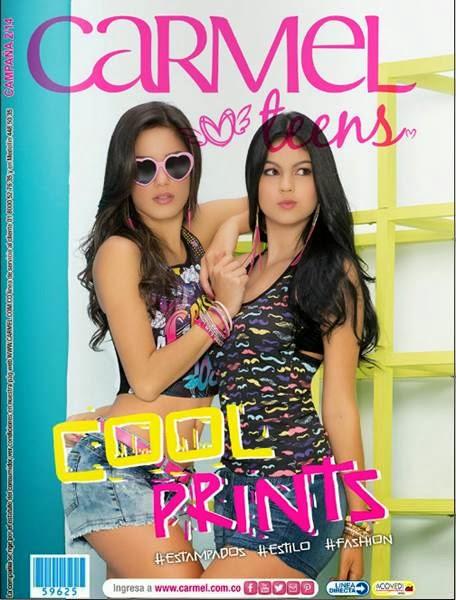catalogo carmel teens campaña 2 2014