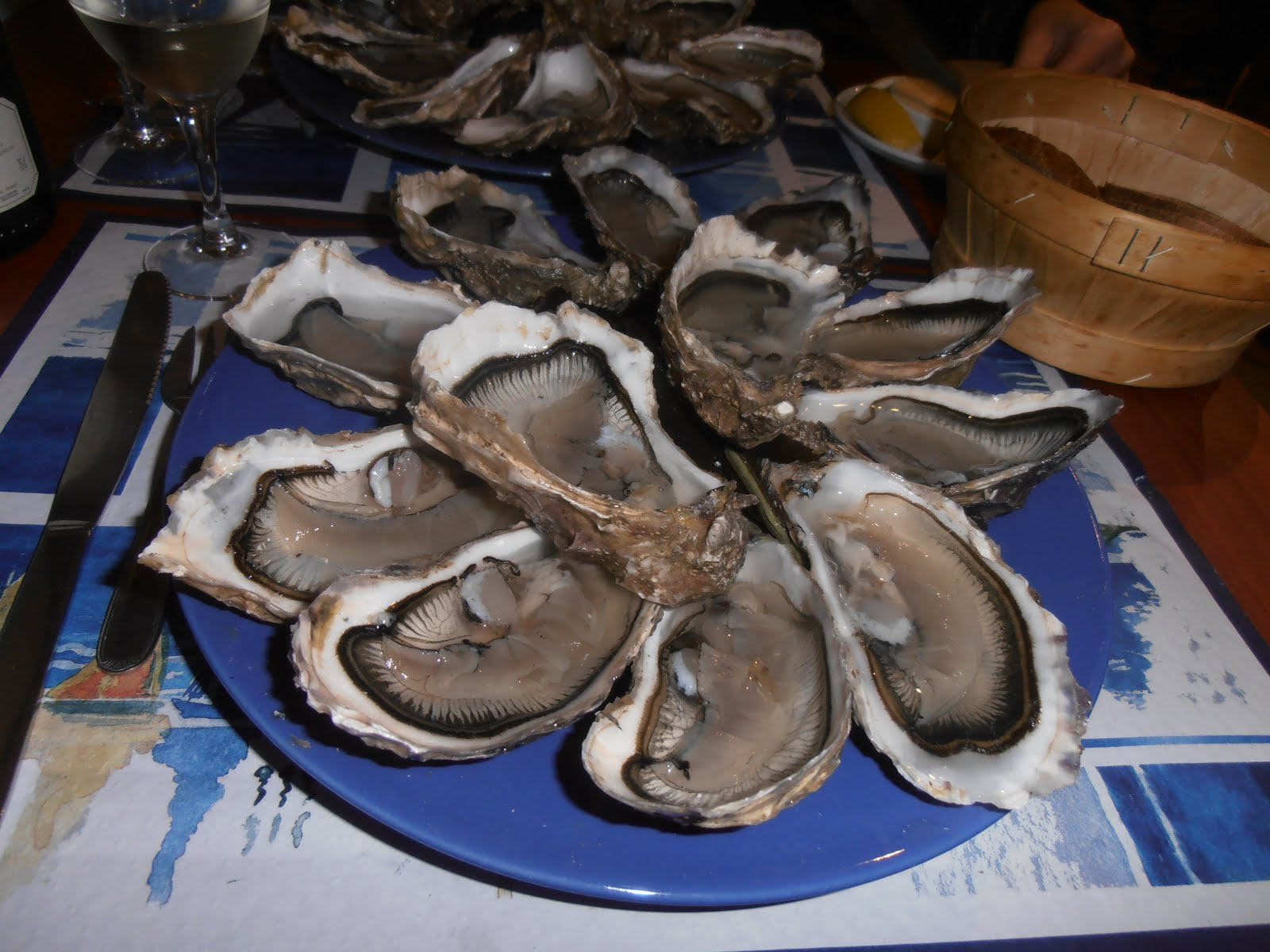 Paris Restaurants and Beyond: Pleine Mer - Oyster Heaven