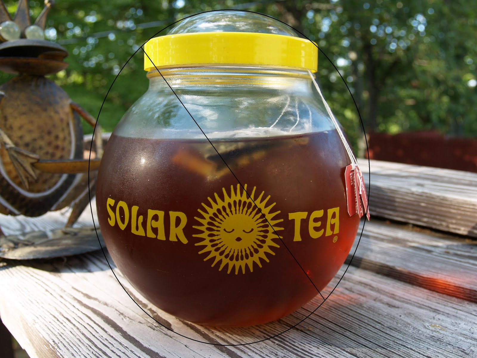 "Confessions of a Closet Raw Foodie Wannabe: Just Say ""NO"" to Sun Tea"