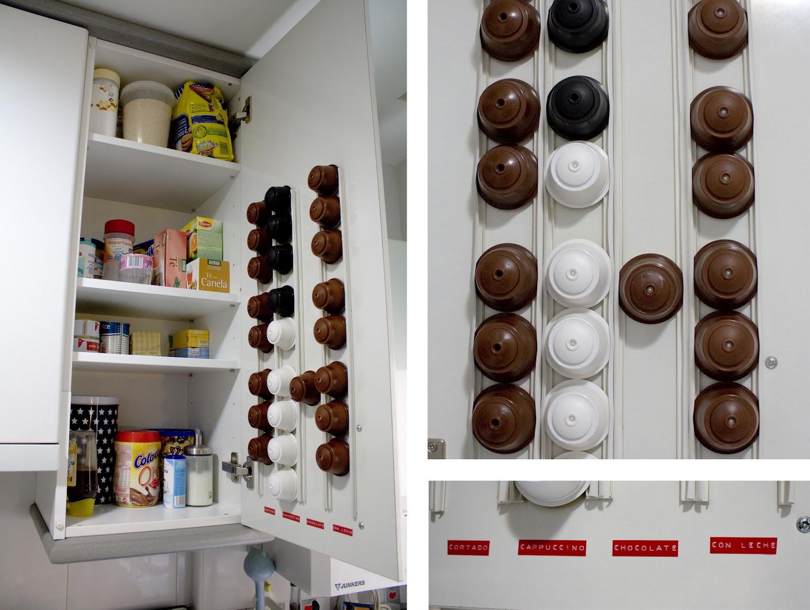 Blootiful dispensador de c psulas casero - Que hacer con capsulas nespresso ...