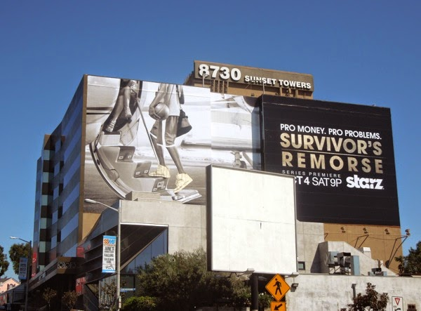 Giant Survivor's Remorse gold foil billboard