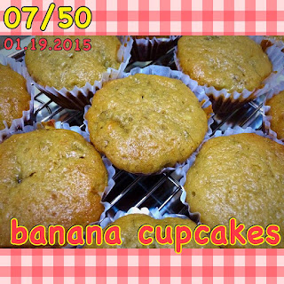 homemade banana cupcakes