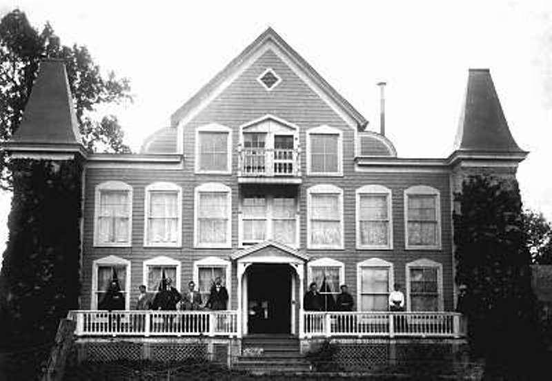 Clara barton for Clara house