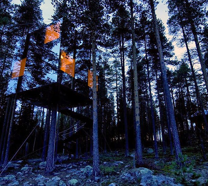 Nhà cây gương ở Thụy Điển