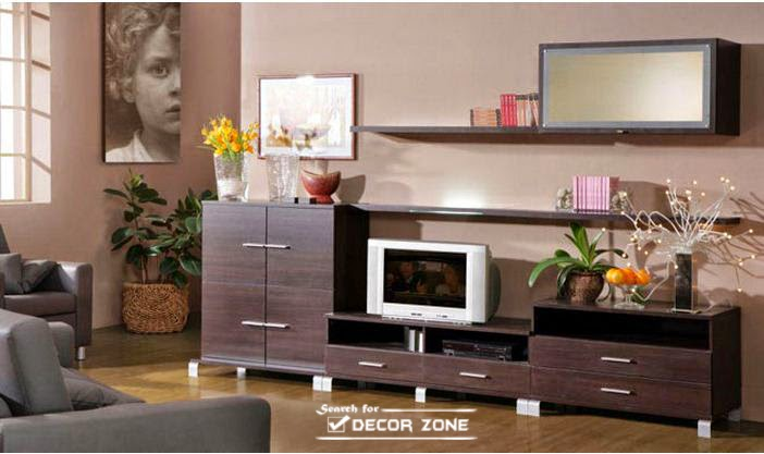 small living room furniture - TV wall units