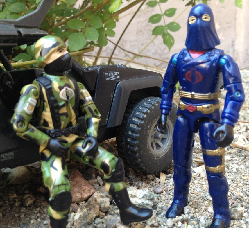 1984 Hooded Cobra Commander, Mail Away, Stinger, Bootleg, Black Major, Cobra Trooper, Jungle Cammo