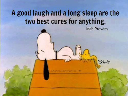 Two Best Cures For Anything,Quotation