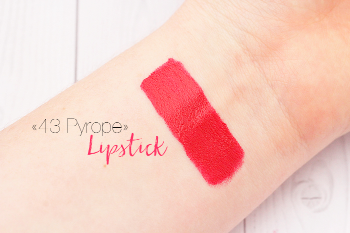H&M Beauty «043 Pyrope» Lipstick
