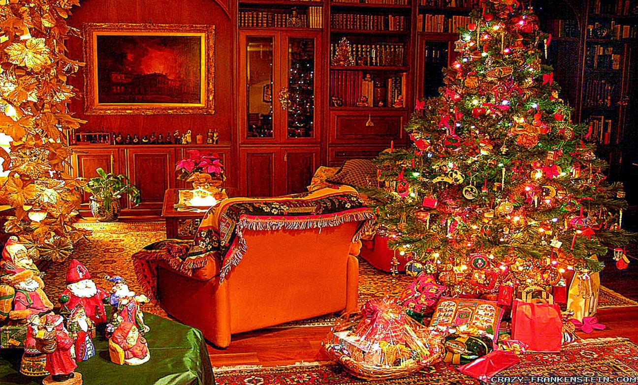 Widescreen christmas wallpapers hd wallpapers plus - Christmas village wallpaper widescreen ...