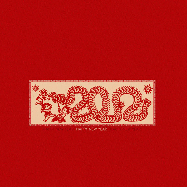 chinese snake year ipad wallpaper 03