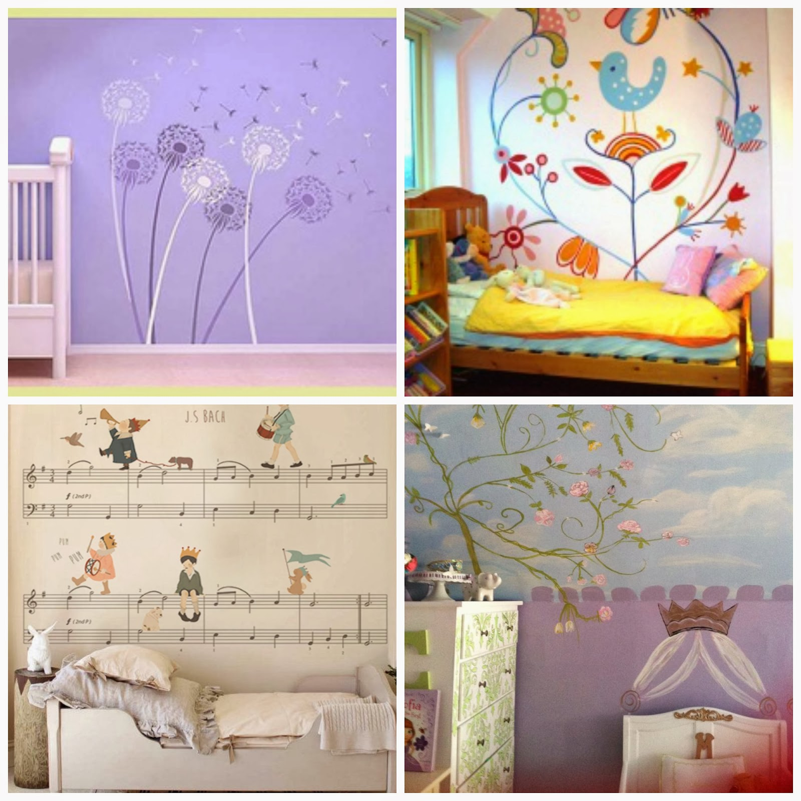Favorite places and spaces on pinterest vignettes for Mural collage